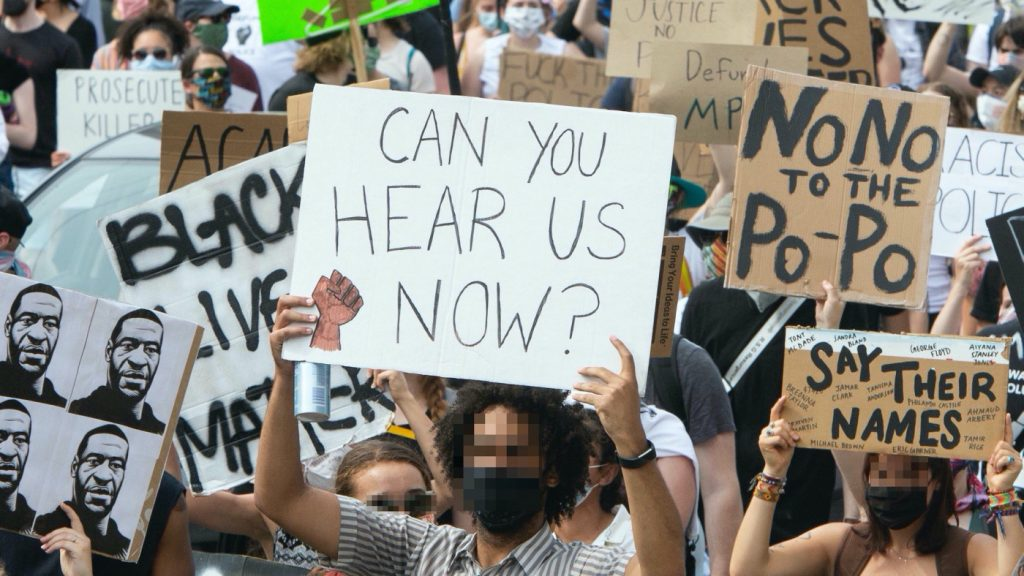 March on Washington protest August 28, 2020.