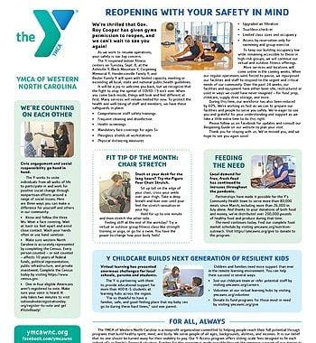 YMCA News: September 2020