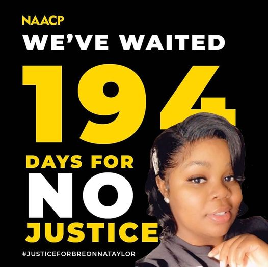194 days no justice for Breonna
