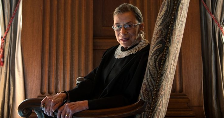 In Honor of Ruth Bader Ginsburg