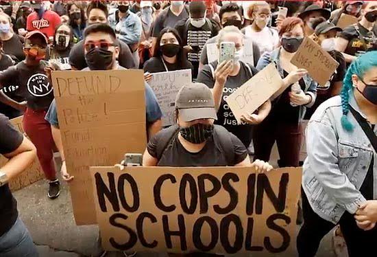 Police Shouldn't Be in Schools