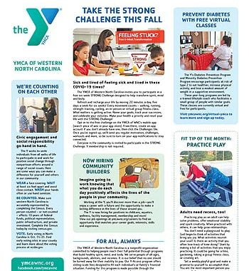 YMCA News: October 2020
