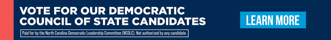 NC Democratic Party Banner