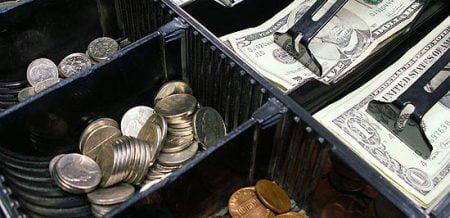 cash-register drawer