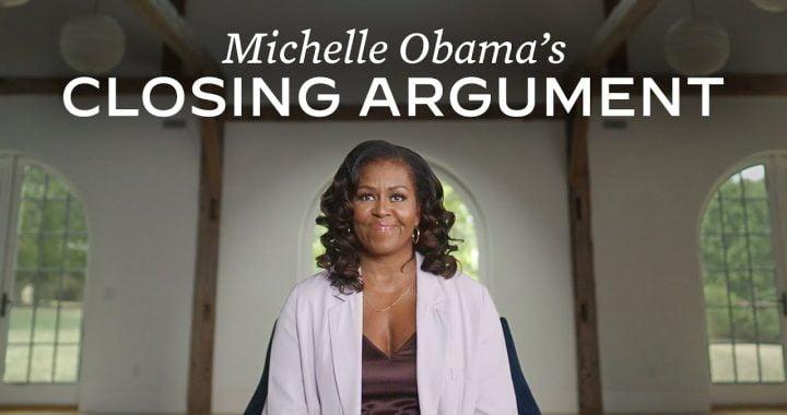 Michelle Obama Video – Vote for Biden
