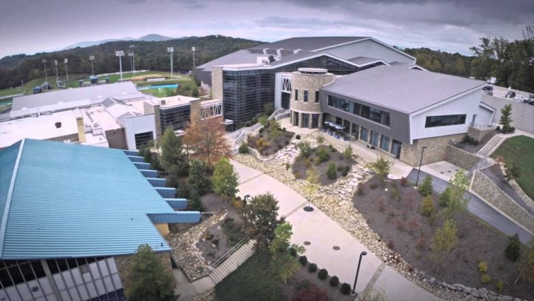 UNC Asheville Aerial View