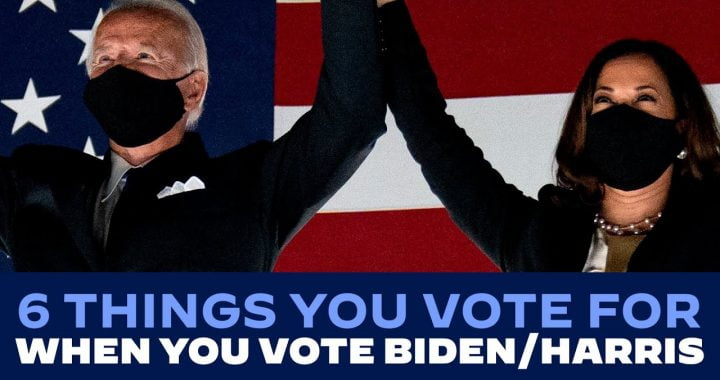 6 Things You Vote For When You Vote Biden – Harris