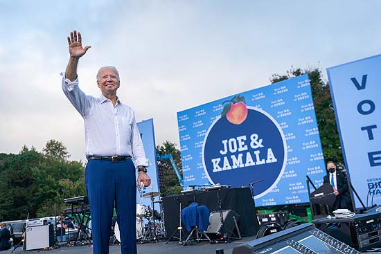 Biden Takes Lead in Georgia