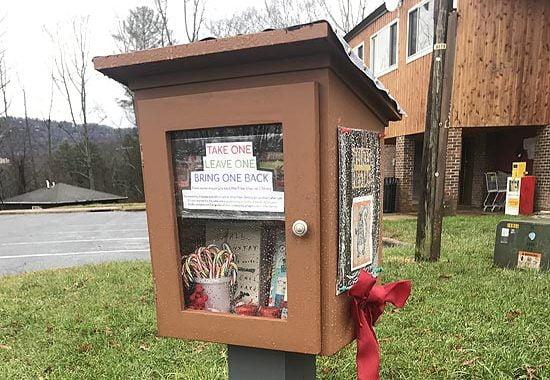 Free Library Project in Montford/Klondyke
