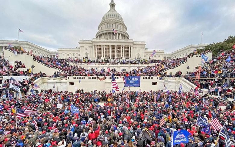 capitol blding mob protest