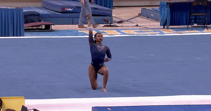 Nia Dennis's Groundbreaking Floor Routine