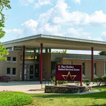 Bailey student services building at A-B Tech
