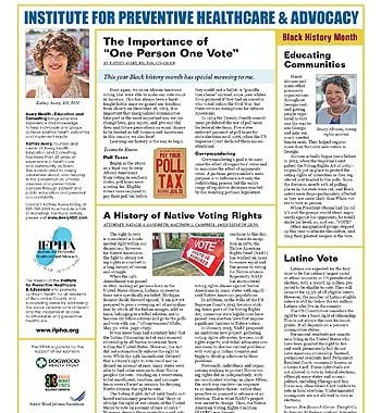 Institute for Preventive Healthcare and Advocacy – February 2021