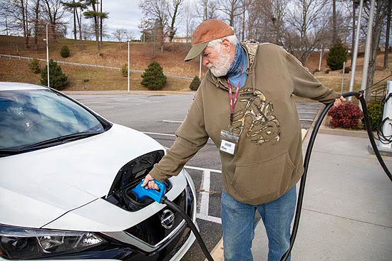 Electric Vehicle Charging Stations Open at A-B Tech