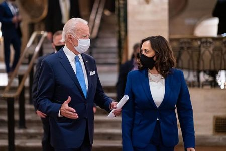 President Biden with VP Kamala Harris