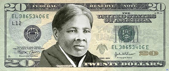 Harriet Tubman on the $20 Bill