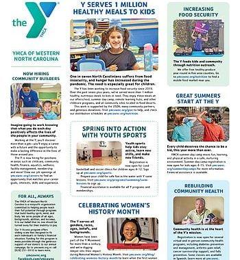 YMCA News: March 2021