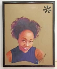 Painting of Jenny Pickens by Joseph Pearson