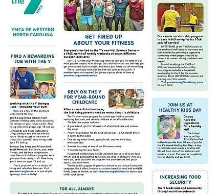 YMCA News: July 2021