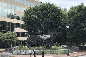 Removal of Vance Monument Remains on Hold