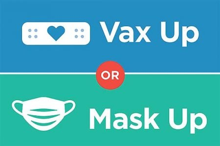 vax up or mask up