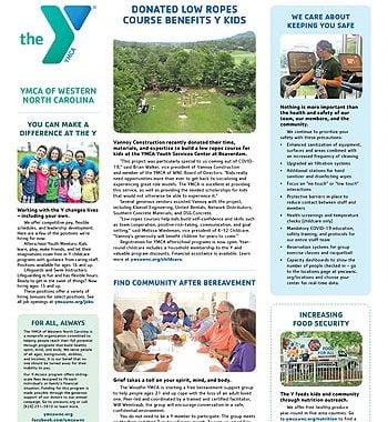 YMCA News: August 2021