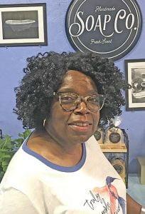 Doris Bennett, owner of Natural Essence Soap Company.