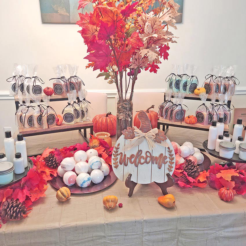Natural Essence Soap Company makes and sells soaps, body wash, lotions, scrubs, and more.