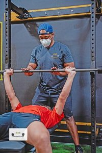 Potential Sports and Fitness offers personal training sessions.