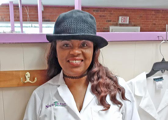 Tricia Bailey, owner of Crowns Salon and Hair Clinic.