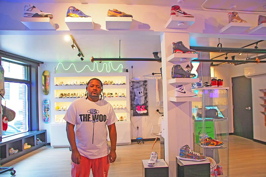 Tim Green, owner of Sole82