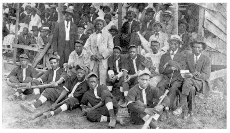 The Asheville Royal Giants. Photo courtesy of Buncombe County Special Collections, Pack Memorial Library.